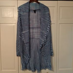 Duster-length Sweater